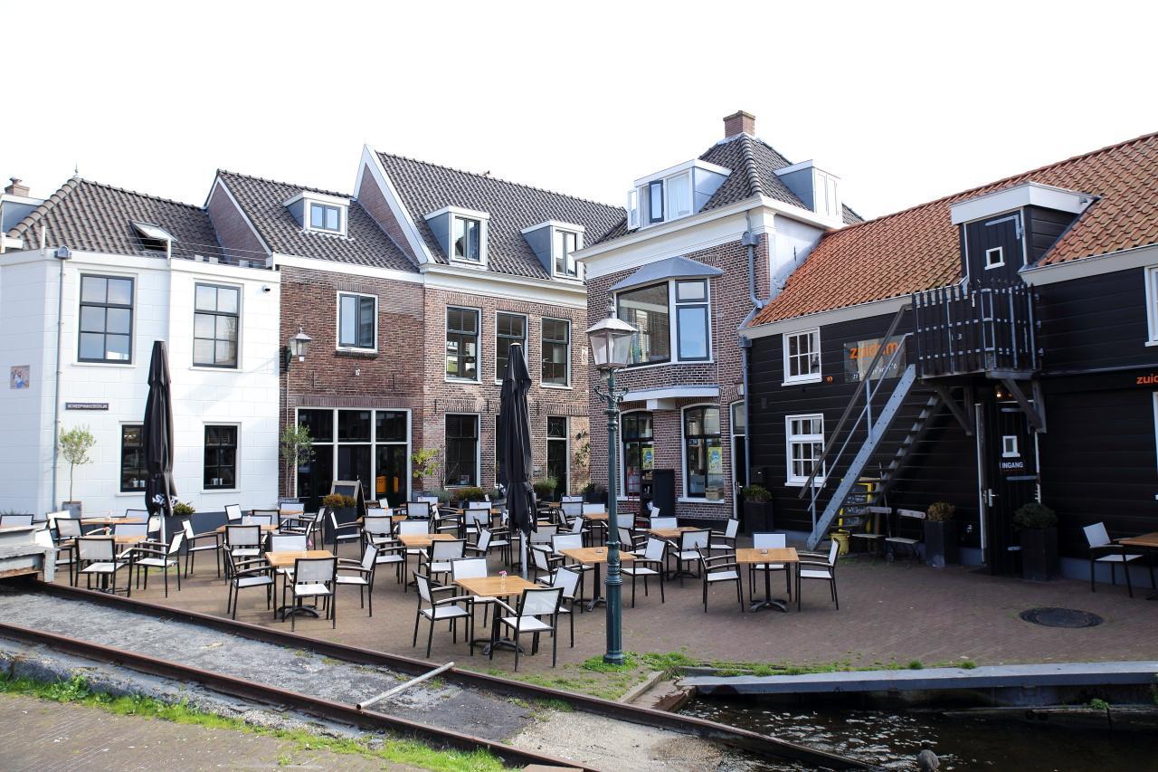 Koffie lunch borrel diner in haarlem restaurant zuidam diner uitzicht spaarne - Eigentijds restaurant ...
