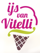 logo horecagelegenheid IJs van Vitelli in Amersfoort