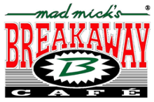 logo van Horecagelegenheid Mad Mick's Breakaway Café in Rotterdam