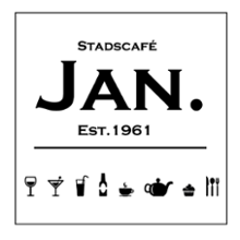 logo horecagelegenheid Stadscafé Jan in Nijmegen