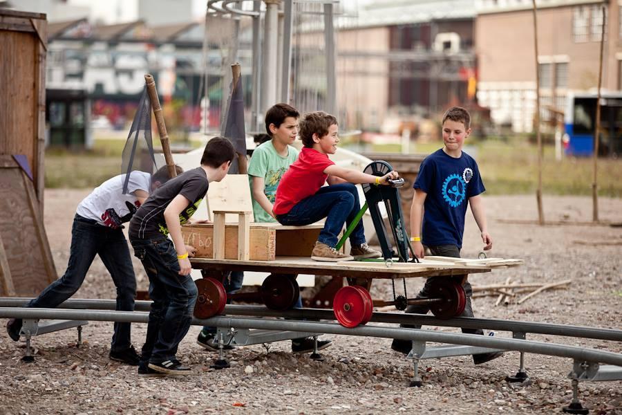 Kinderfeestje Eindhoven bij De Ontdekfabriek