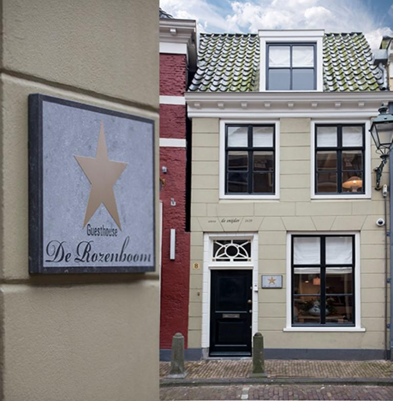 City Centre De Rozenboom in Leeuwarden Slapen Bed & breakfast - foto 1