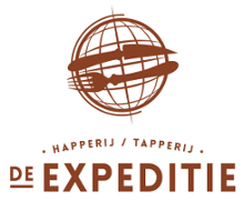 logo horecagelegenheid Happerij Tapperij de Expeditie in Deventer